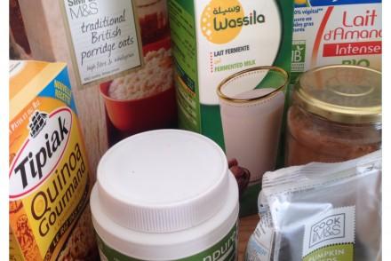 aliments de mon placard healthy