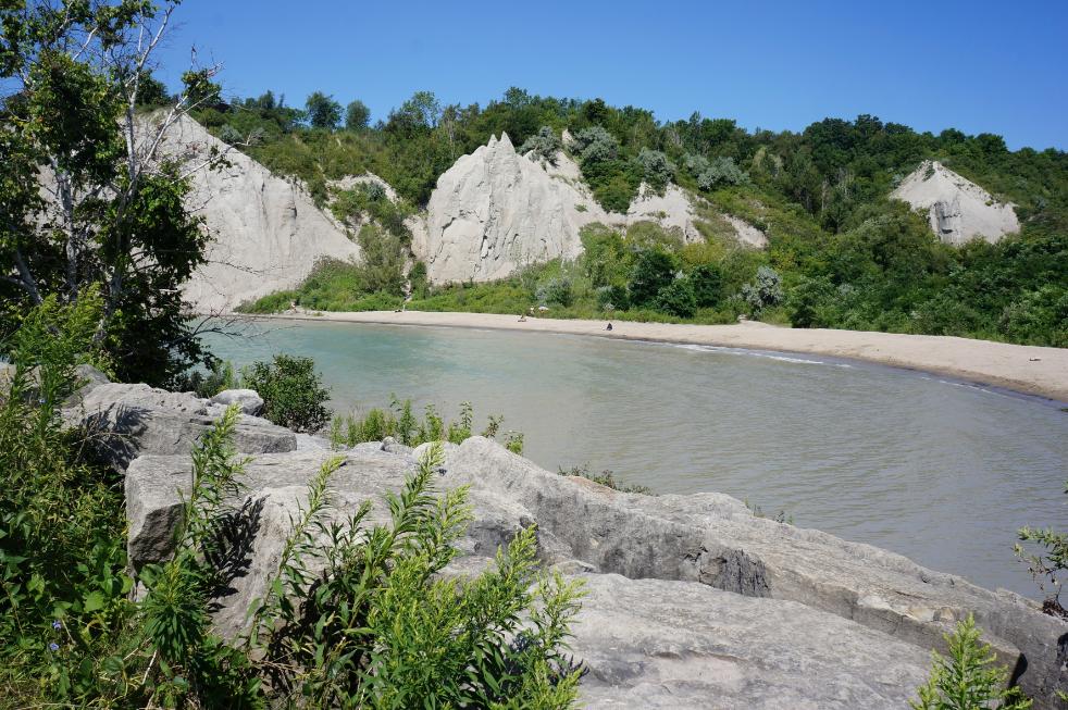 Ontario, Scarborough Bluffs (30 min de Toronto)