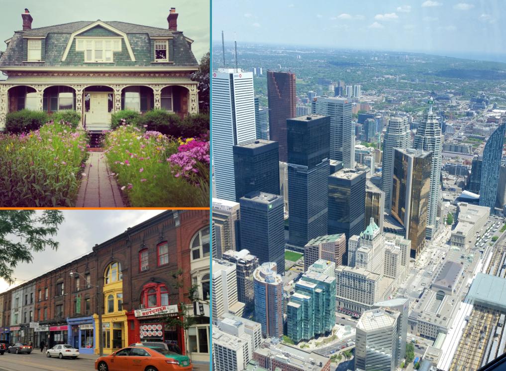 Toronto, Financial District et Queen Street East