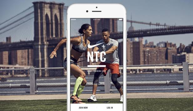 APPLICATION NIKE + TRAINING CLUB