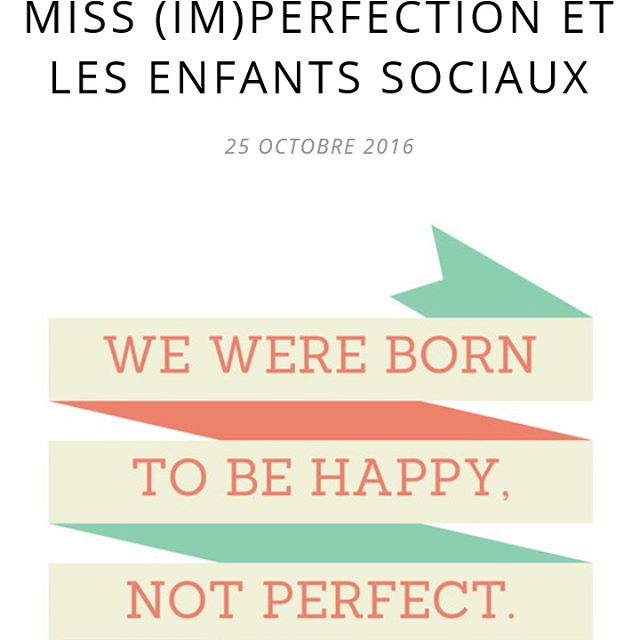 I dont want to be perfect just happy coupdegueule reseauxsociauxhellip